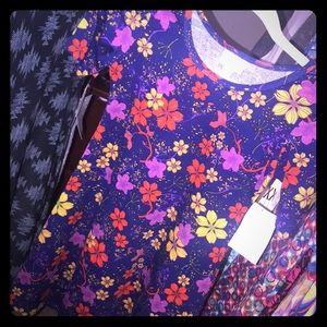 LuLaRoe Dresses - Vintage floral print dress, girls size 10